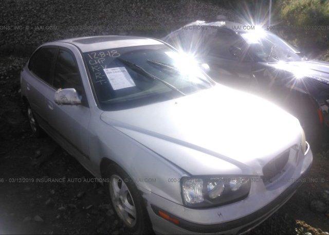 Inventory #693527824 2003 Hyundai ELANTRA