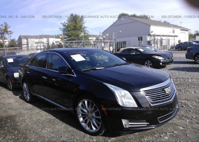 2G61W5S8XG9104159, Salvage black Cadillac Xts at