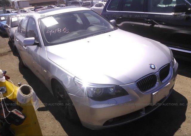 Inventory #262065418 2004 BMW 545