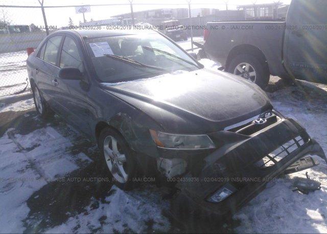 Inventory #758430618 2006 Hyundai SONATA