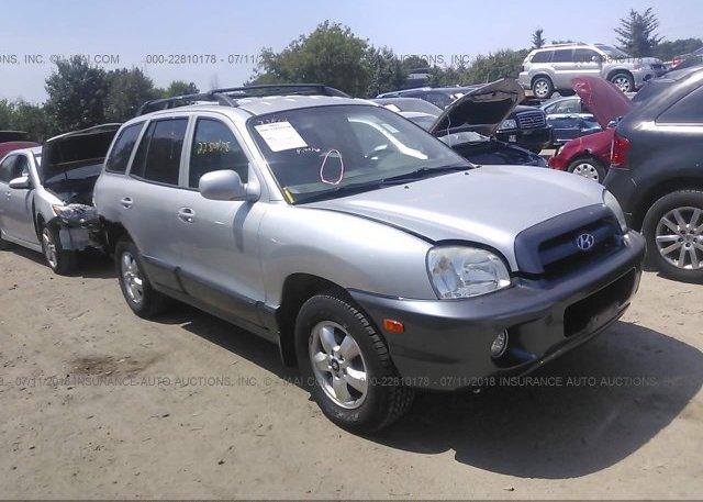 Inventory #217017276 2005 Hyundai SANTA FE