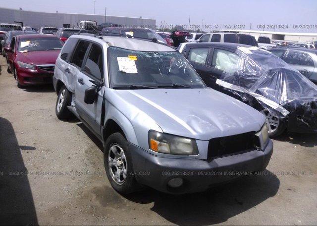 Inventory #412249602 2003 Subaru FORESTER