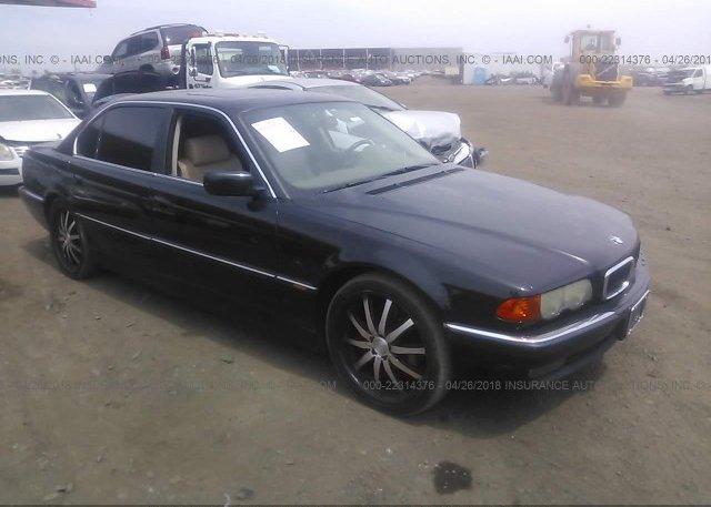 Inventory #401628137 1999 BMW 740