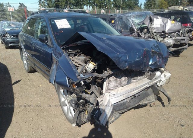 4S4BP61C986325282, Bill Of Sale light blue Subaru Outback at