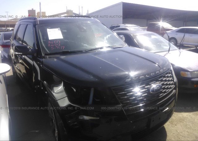 Inventory #944534562 2018 FORD EXPLORER