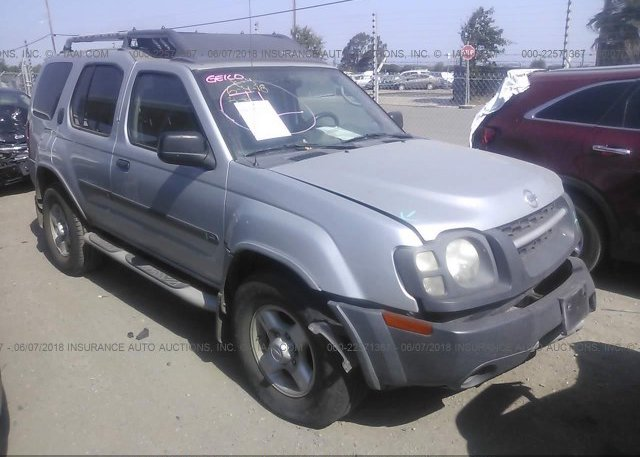 5n1ed28t33c702350 Salvage Certificate Silver Nissan Xterra At Bay