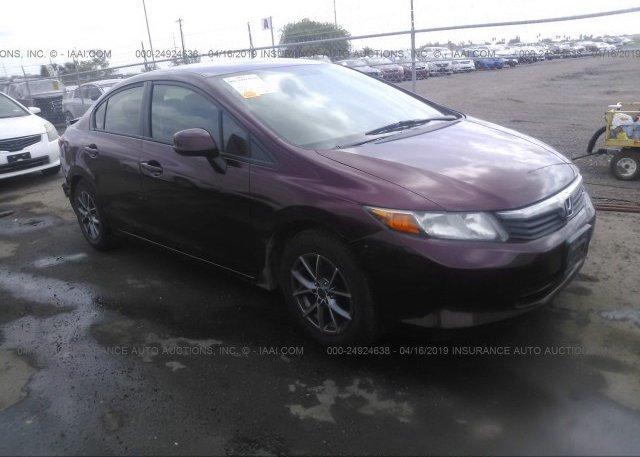 Inventory #701486592 2012 Honda CIVIC