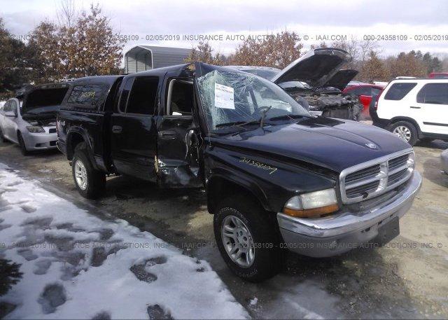 Inventory #401205345 2003 Dodge DAKOTA