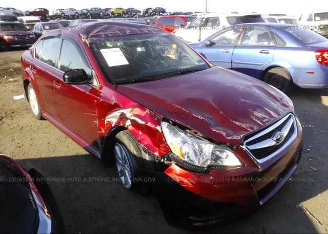 Inventory #401890728 2012 Subaru LEGACY