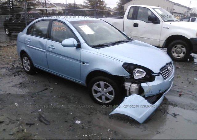 Inventory #440857382 2008 Hyundai ACCENT