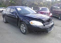 2007 Chevrolet IMPALA - 2G1WT55N579389312 Left View
