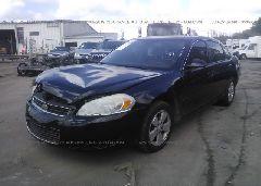 2007 Chevrolet IMPALA - 2G1WT55N579389312 Right View