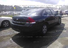 2007 Chevrolet IMPALA - 2G1WT55N579389312 rear view