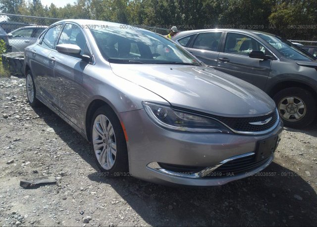 Inventory #478431878 2015 Chrysler 200