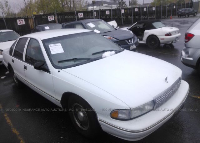 1G1BL52P1SR136569, Clear white Chevrolet Caprice / Impala at