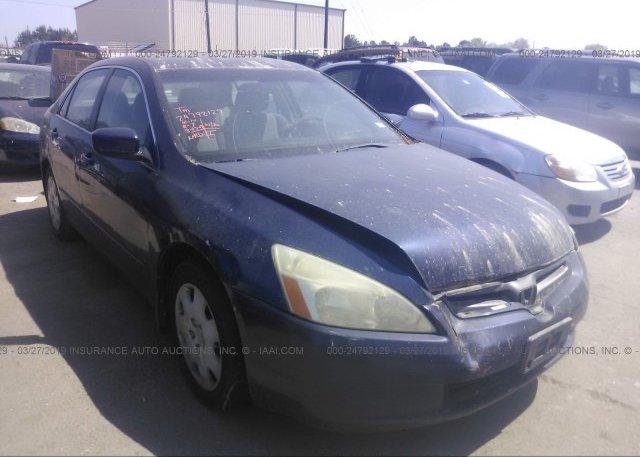 Inventory #725362441 2003 Honda ACCORD
