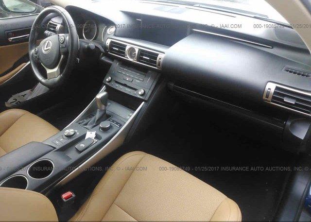 пригнать из сша 2015 Lexus IS 250 JTHCF1D28F5025011