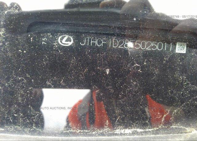 JTHCF1D28F5025011 2015 Lexus IS 250