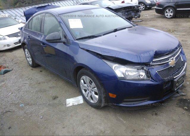 Inventory #381155065 2013 Chevrolet CRUZE