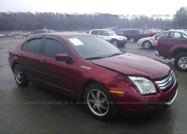3fahp07z79r159622 Salvage Red Ford Fusion At Knoxville Tn On