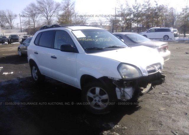 Inventory #621933291 2006 Hyundai TUCSON