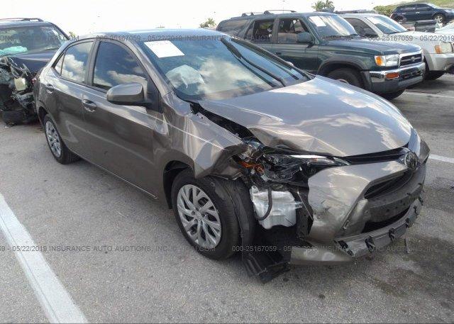 Inventory #479809724 2018 Toyota COROLLA