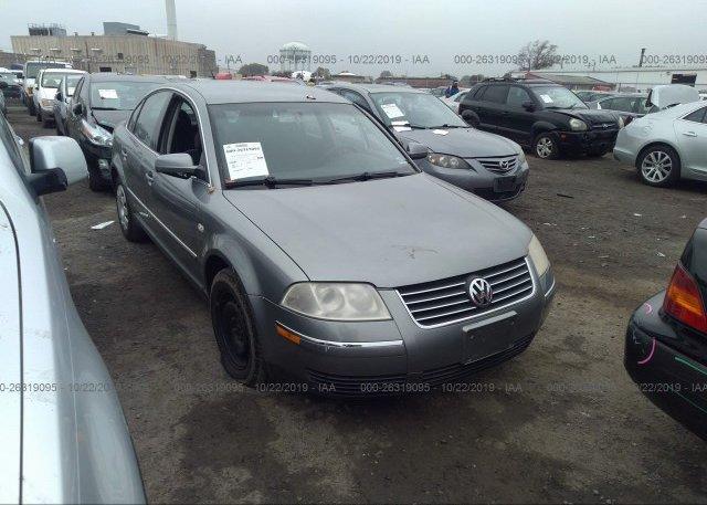 Inventory #165603372 2003 Volkswagen PASSAT