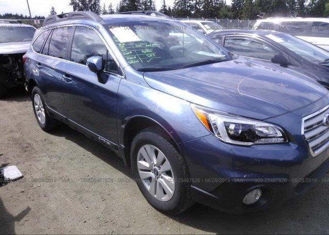 Inventory #403633913 2017 Subaru OUTBACK