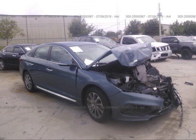 Inventory #824027212 2015 Hyundai SONATA