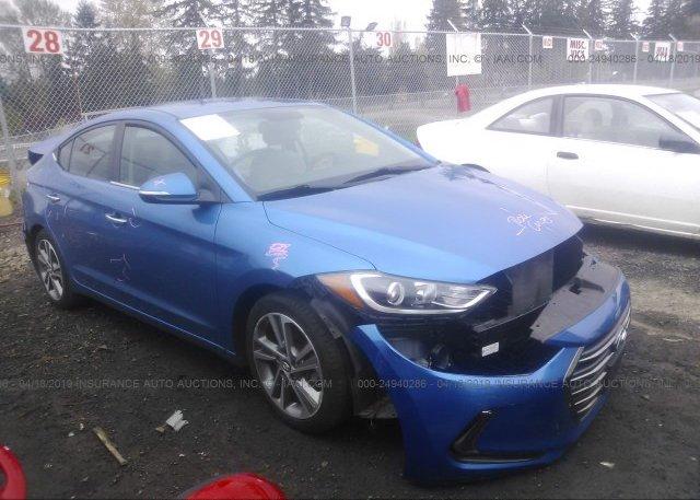 Inventory #398643714 2017 Hyundai ELANTRA