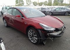 2018 Tesla MODEL 3 - 5YJ3E1EA7JF011019 Left View