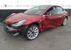 2018 Tesla MODEL 3 - 5YJ3E1EA7JF011019 Right View