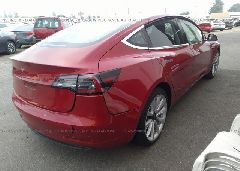 2018 Tesla MODEL 3 - 5YJ3E1EA7JF011019 rear view