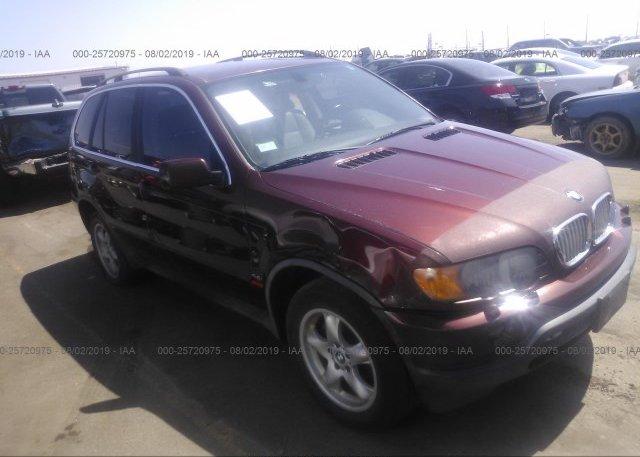 Inventory #990817065 2001 BMW X5