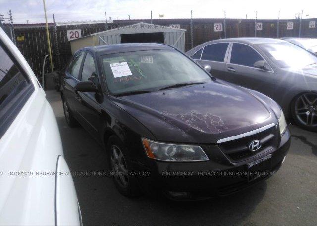 Inventory #136470154 2006 Hyundai SONATA