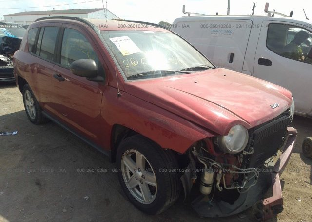 Inventory #217738718 2007 JEEP COMPASS