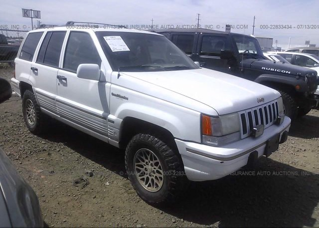 Inventory #635023008 1995 JEEP GRAND CHEROKEE