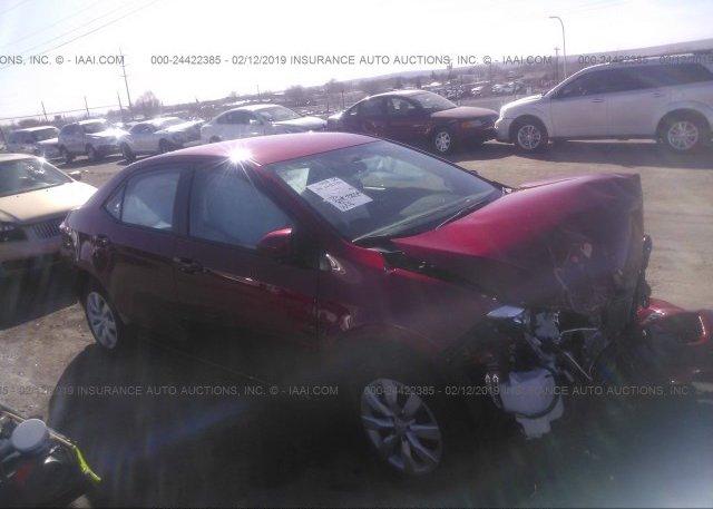 Inventory #646962246 2016 Toyota COROLLA