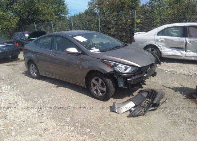 Inventory #891369266 2014 Hyundai ELANTRA