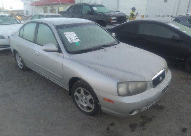 Inventory #182402880 2003 Hyundai ELANTRA