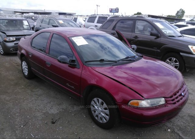 Inventory #254784012 1998 Plymouth BREEZE