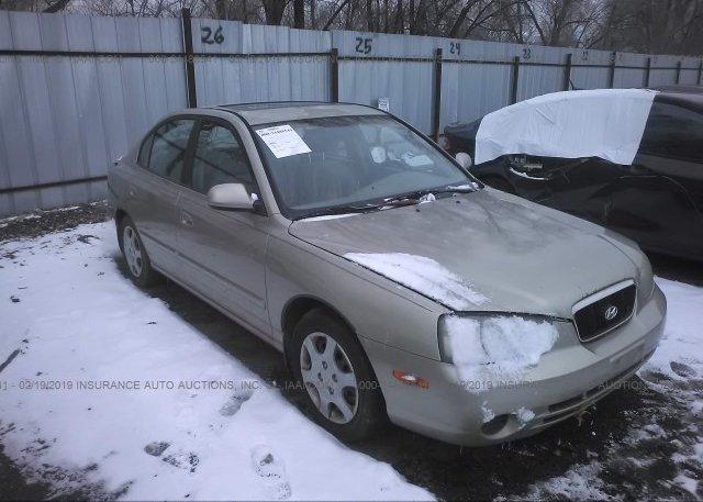 Inventory #966636977 2002 Hyundai ELANTRA