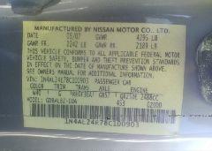 2008 Nissan ALTIMA - 1N4AL24E78C100903 engine view