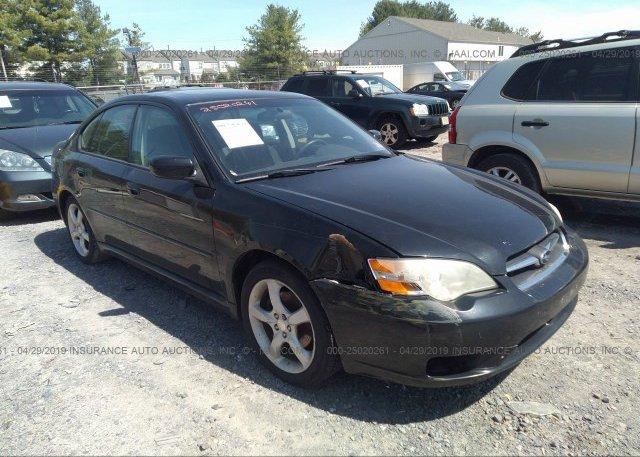 Inventory #421794715 2006 Subaru LEGACY