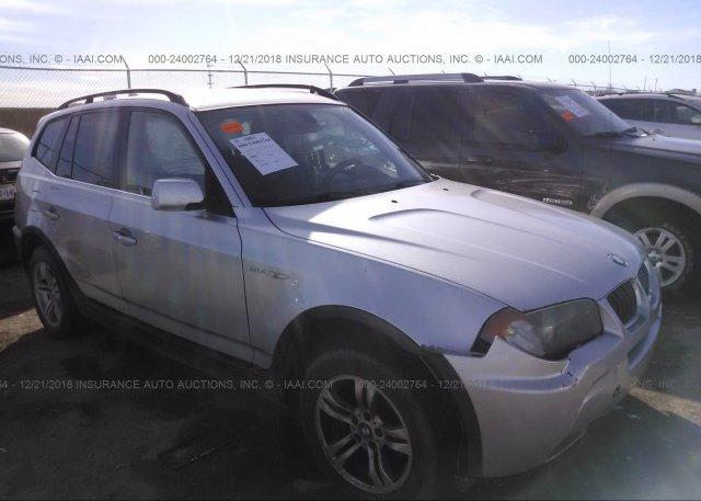 Inventory #674988857 2006 BMW X3