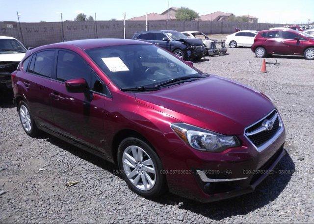 Inventory #312953090 2015 Subaru IMPREZA