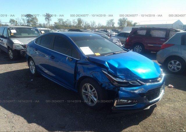Inventory #398255065 2016 Chevrolet CRUZE