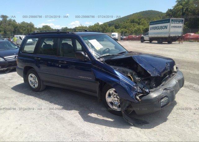 Inventory #775970096 2002 Subaru FORESTER