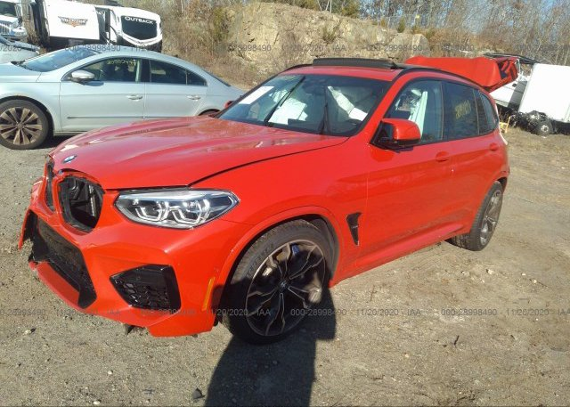 из сша 2020 BMW X3 M 5YMTS0C04L9C01820