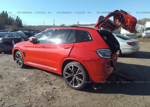 купить 2020 BMW X3 M 5YMTS0C04L9C01820